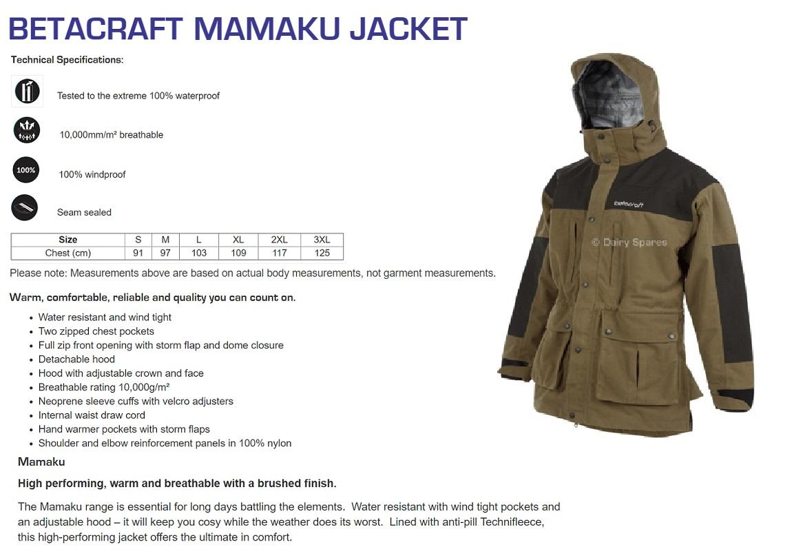 Betacraft Mamaku Jacket