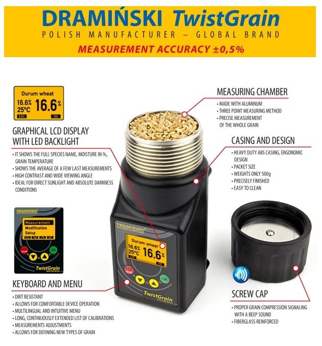 Draminski TwistGrain Meter