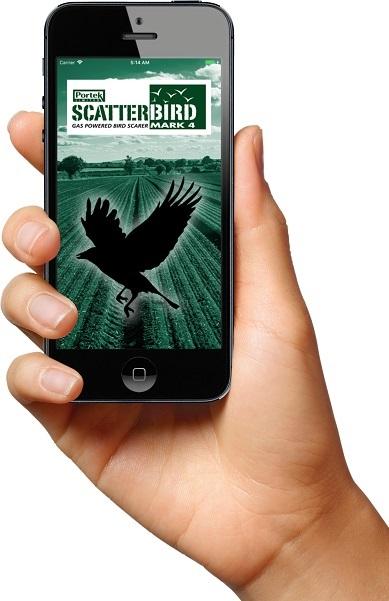Scatterbird MK4 App Homescreen Image